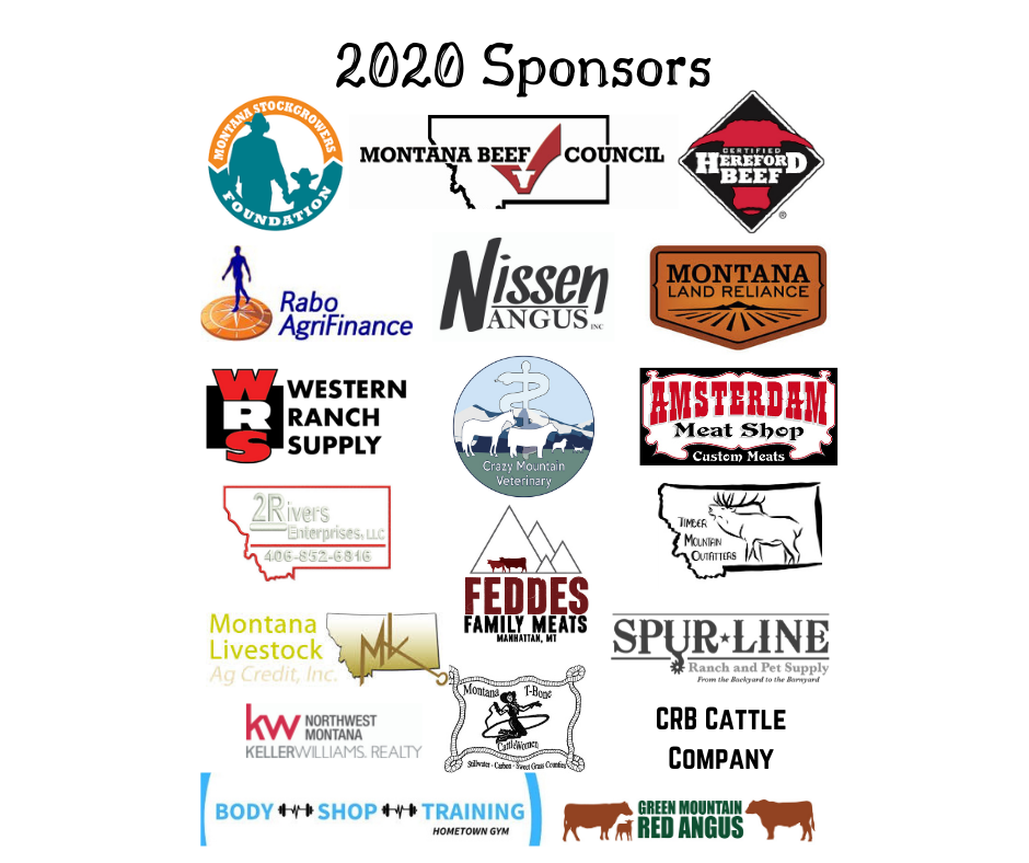 2020 Ranch run sponsors